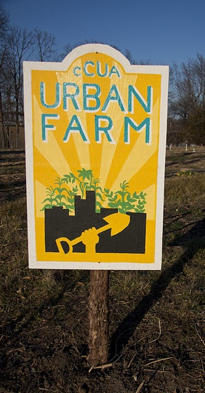 Columbia Center for Urban Agriculture Farm Sign