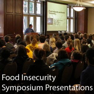 Ad for Food Insecurity Symposium Presentations