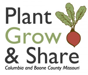 plant grow and share logo