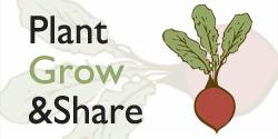 Plant Grow Share logo for info box