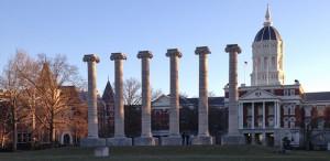 jesse hall with columns