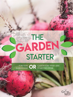 cover for the Garden Starter gardening manual